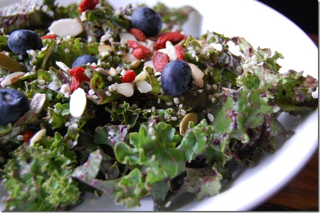 Nutrition to Fit Blueberry Kale Salad