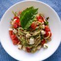 Zucchini Noodle Caprese Salad