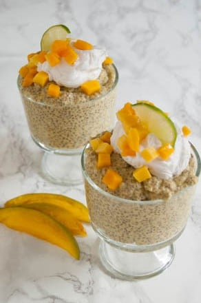 Coconut Mango Chia Pudding