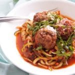 Easy Turkey Meatballs make a quick weeknight dinner or freeze easily for fast reheating. They only have 6 ingredients and are gluten-free, dairy-free, grain-free, and more!