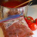 Freezer Tomato Sauce
