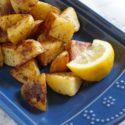 Greek-Inspired Lemon Skillet Potatoes