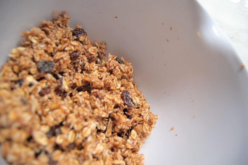 Oatmeal Cookie Energy Ball Dough