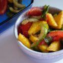 Polenta Panzanella Salad