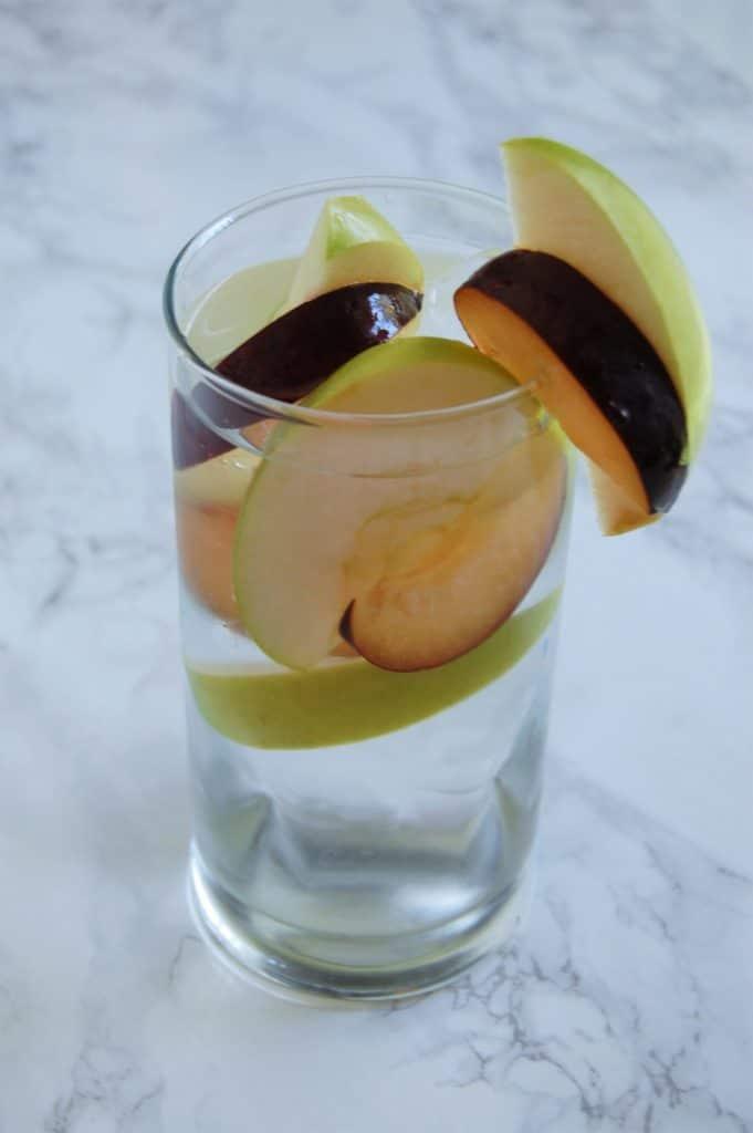 Apple Plum Water