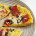 Open Faced Pizza Omelet