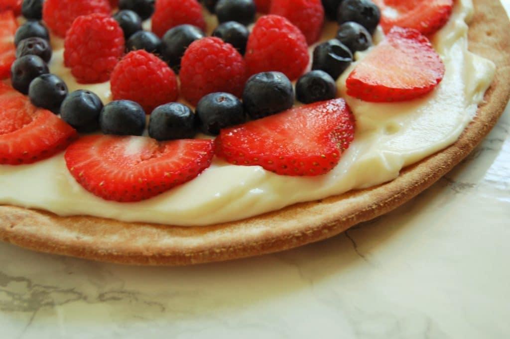 Ricotta Fruit Pizza