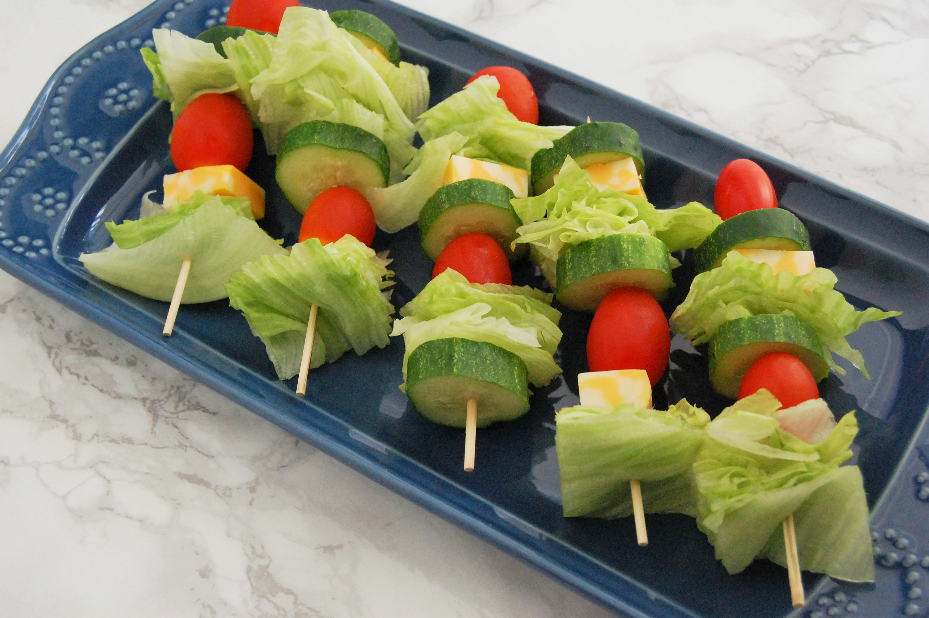 Salad Skewers | Nutrition to Fit