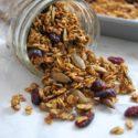 Pumpkin Spice Buckwheat Granola