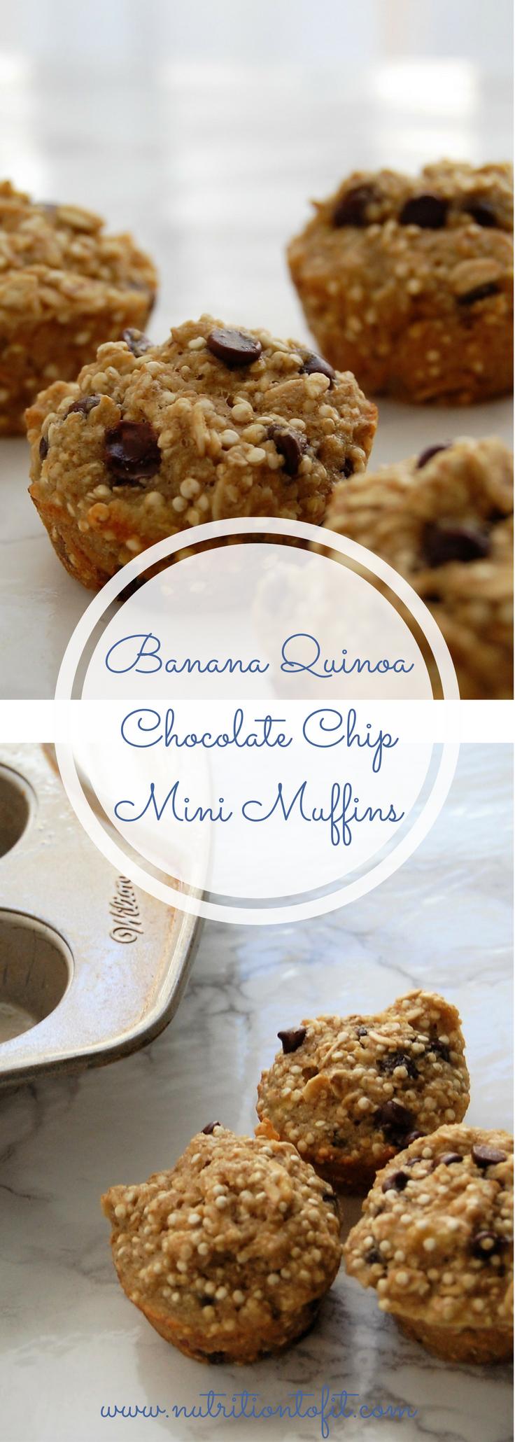 Banana Chocolate Oat Flour Muffins