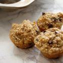 Banana Quinoa Chocolate Chip Mini Muffins
