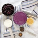 Wild Blueberry Lemon Ricotta Smoothie