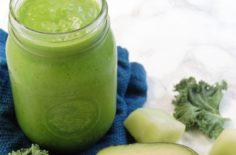 Honeydew Avocado Kale Smoothie