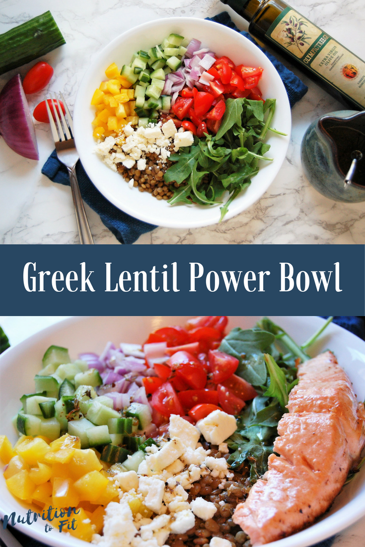 Greek lentil power bowl nutrition to fit lentils recipes lunch dinner easy healthy nutritious power bowl forumfinder Image collections