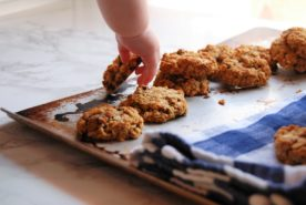 Lactation Cookies (and Almond Oat Chocolate Chunk Cookies recipe)