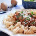 Meaty Mushroom Bolognese