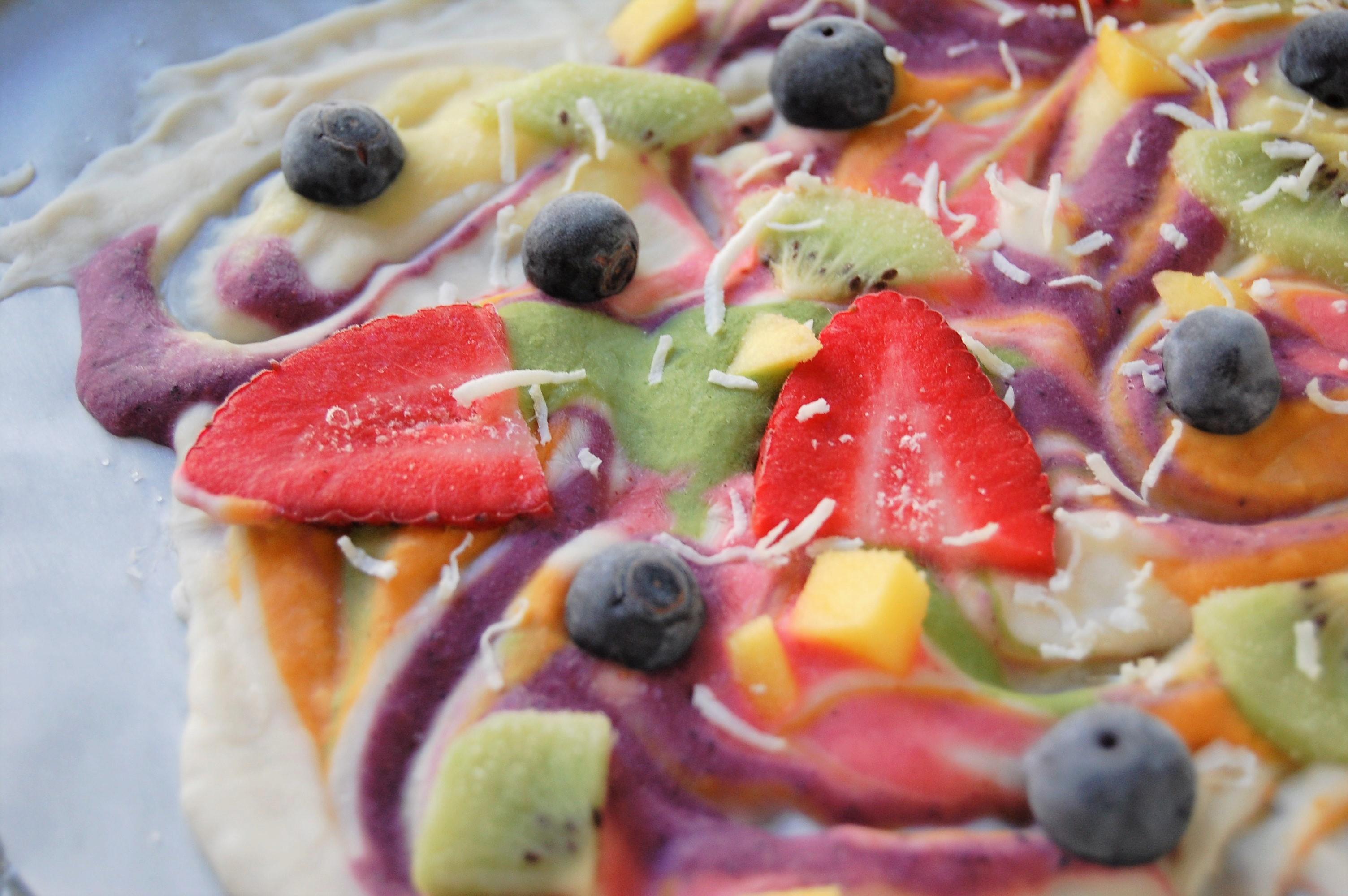 Rainbow Frozen Yogurt Bark   Healthy Recipe   Recipes   Rainbow Food   Frozen Yogurt Bark   Nutrition   Dietitian   Fruits   Vegetables   Fun Food   Cooking with Kids   Healthy Snack   Healthy Treat