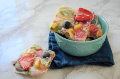 (Natural) Rainbow Frozen Yogurt Bark