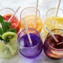 Sparkling Rainbow Mocktails