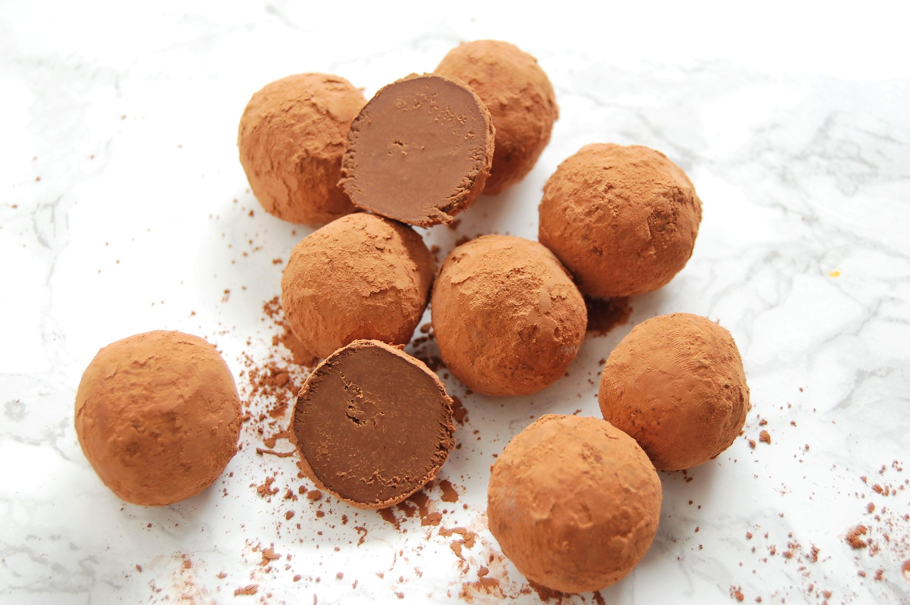 How to Make Chocolate Avocado Truffles