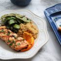 Grilled Salmon with 4 Ingredient Orange Herb Marinade
