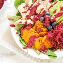 Golden Beet Salad with Blueberry Lime Dressing