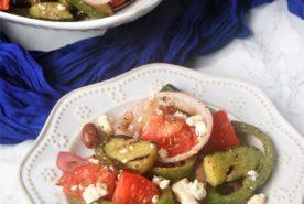 Grilled Greek Salad