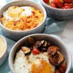 Yogurt Whipped Polenta Breakfast Bowls Three Ways