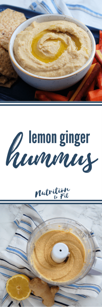 Lemon Ginger Hummus Recipe (plus a look at the research on whether beans are actually good for us)