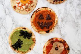 Healthy Halloween Snacks: Spooky Tostadas!