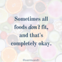 Food Sensitivities & Allergies: It's Okay When All Foods Don't Fit