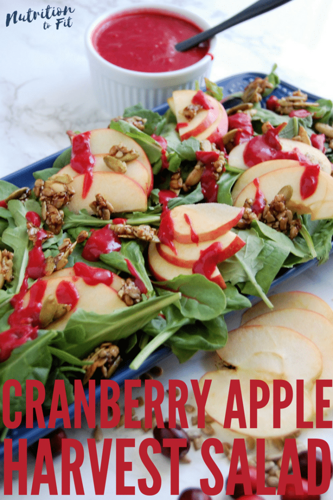 Cranberry Apple Harvest Salad