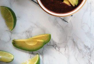 3-Ingredient Black Bean Soup
