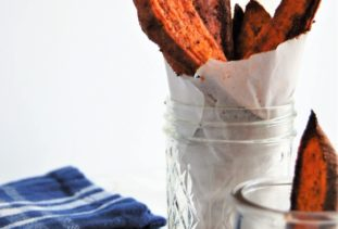 Baked Spiced Sweet Potato Wedges (with the best sweet potato spice blend!)
