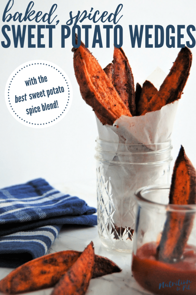 Baked Spiced Sweet Potato Wedges are a super flavorful side thanks to the best sweet potato spice blend! They're a versatile side dish and free of the top 8 most common food allergens.