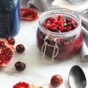 Pomegranate Cherry Chia Pudding