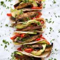 Adobo Lime Portobello Tacos