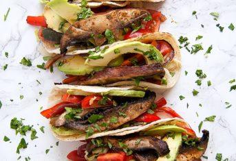 Adobo Lime Portobello Tacos