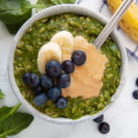 Green Smoothie Oatmeal