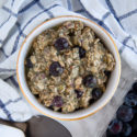 Blueberry Matcha Overnight Oats