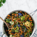 One-Pot Lentil Pasta Primavera