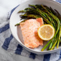 Easy Sheet Pan Lemon Sesame Salmon