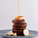 Gluten-Free, Vegan Banana Buckwheat Pancakes