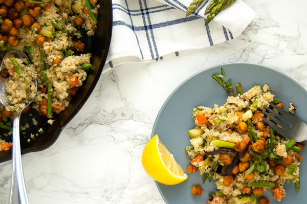 dinner! | gluten-free, dairy-free, vegan, plant-based, egg-free, nut-free | Nutrition to Fit