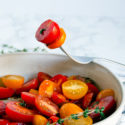 5-Minute Balsamic Thyme Tomato Salad