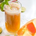 Cantaloupe Basil Agua Fresca