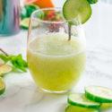 Cucumber Mint Agua Fresca