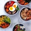 Sweet & Savory Sweet Potato Bowls