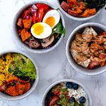 5 variations of sweet and savory sweet potato bowls for any meal of the day
