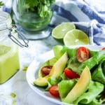 Cilantro lime dressing is a flavor-packed healthy salad dressing that needs just a handful of simple ingredients.